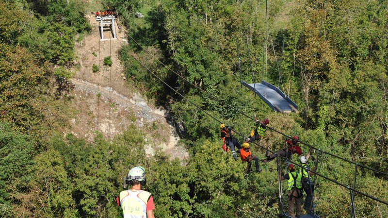 Vidéo. La Suisse inaugure le pont suspendu le plus long du monde